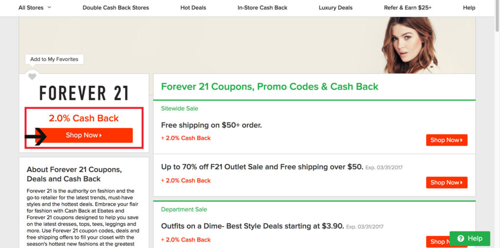 Save Money Every Time You Shop Online And Get A $10 Free Giftcard