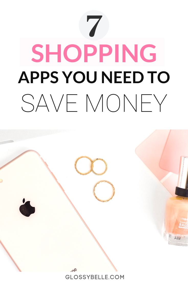 This post covers 7 essential shopping apps that will conveniently help you save money and earn cash back. Hate couponing and flipping through flyers? Don't worry - you can finally ditch those! These smartphone apps will add money back to your wallet! | saving money | rebates #frugal #frugalliving #cashback #savemoney #savingmoney