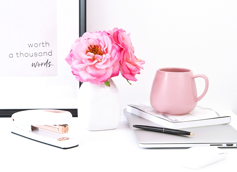 stay motivated flowers coffee