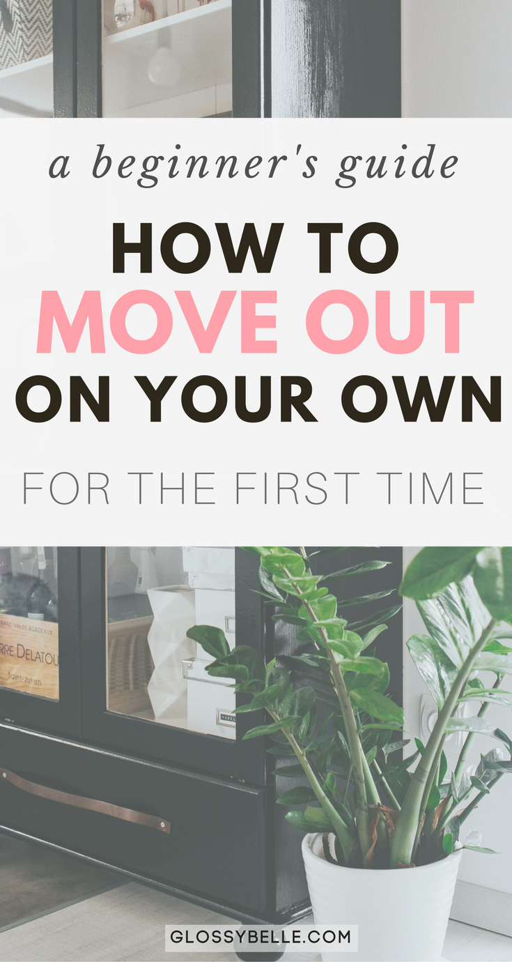 Are you interested in moving out on your own? There are so many factors to consider when moving out of your parent's house for the first time. It can be a very scary yet exciting and exhilarating time of your life. Here are some tips on what to expect and how to save money. | independence | independent | move out for the first time | life lessons | adulting 101 | #adulting #budgeting #savingmoney #movingtips #apartment