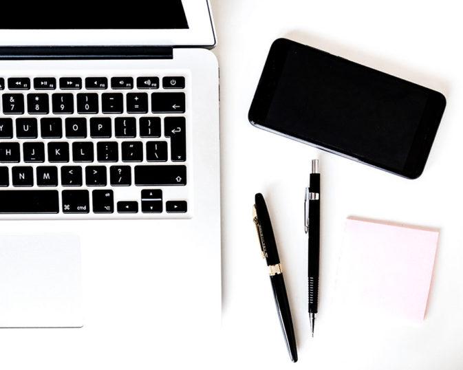 pen-paper laptop productivity