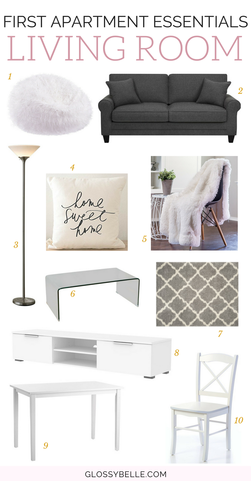 If you're about to move out into your first apartment, here are the most important apartment essentials you'll need to be ready to move out on your own.   adulting   move out for the first time   moving out   independence   college essentials   college dorm   room essentials   home decor   living room essentials #apartment #furniture #furnitureideas #adulting #livingroomideas #livingroomdecor #livingroomfurniture #livingroom