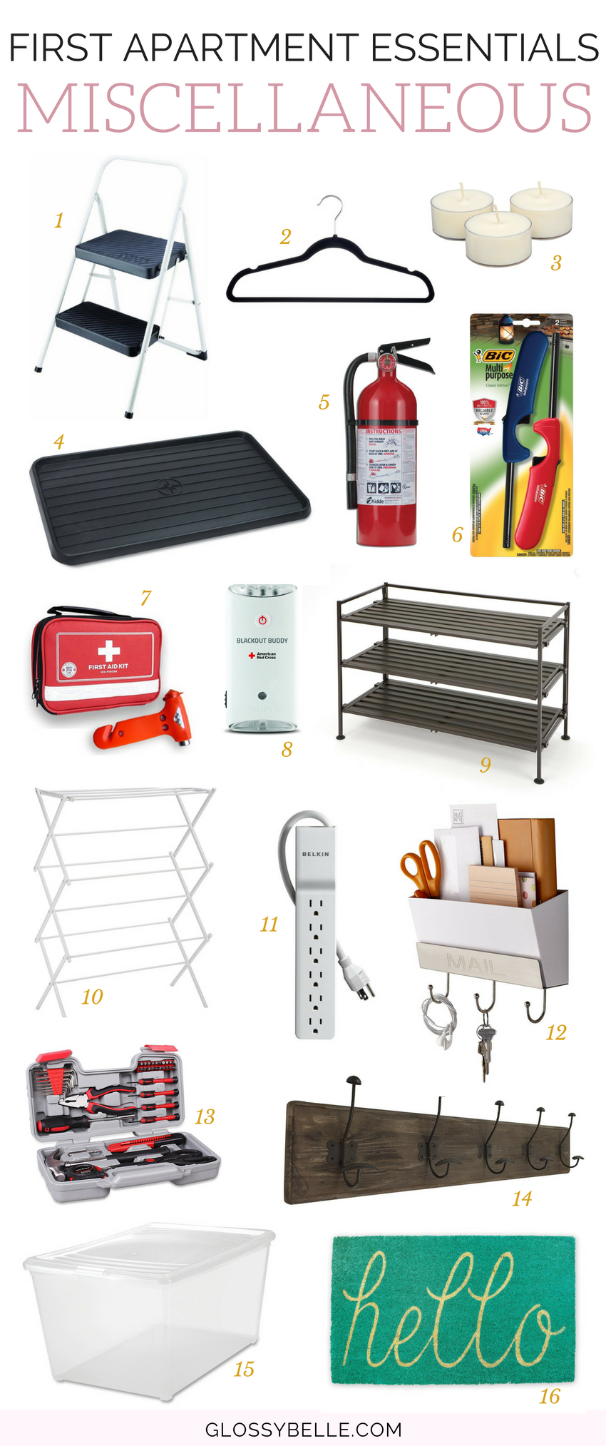 If you're about to move out into your first apartment, here are the most important apartment essentials you'll need to be ready to move out on your own. adulting   move out for the first time   moving out   independence   college essentials   college dorm   room essentials   home decor   miscellaneous essentials #apartment #furniture #furnitureideas #adulting #homedecor #homedesign #roomdecor