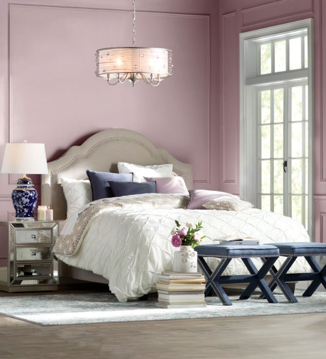 Gwyneth Upholstered Panel Bed Frame