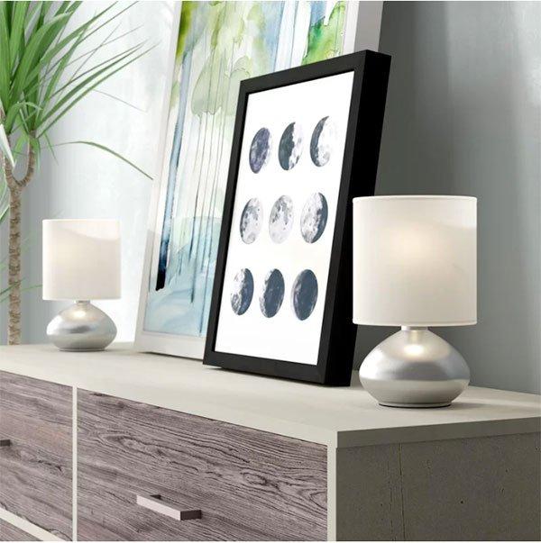 bedroom nightstand lamp