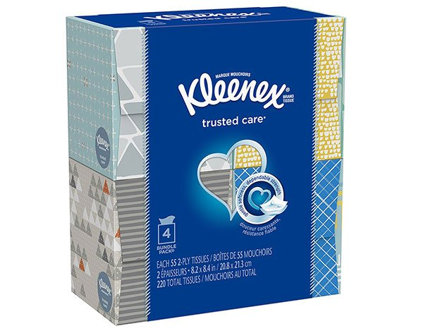 kleenex tissue boxes