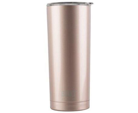 rose gold drink tumbler