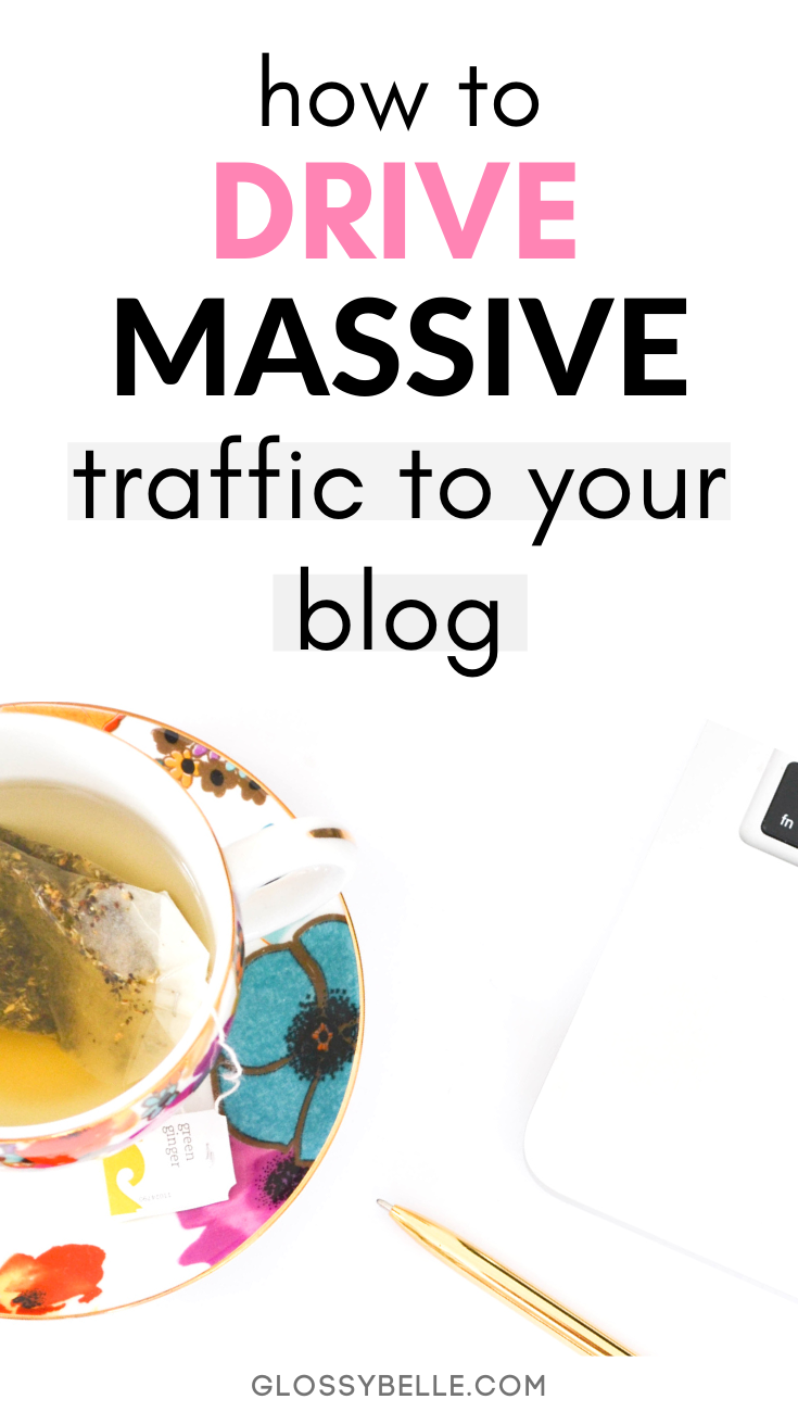If you're finding that you spend a lot of time on Pinterest and your blog isn't gaining any traction, learn my strategy on how to increase your blog's pageviews and skyrocket your traffic. I went from 0 to over 70,000 pageviews in just a few months and you can too! | explode your traffic | promote your blog | blog promotion | blog traffic tips | tailwind tribes | group boards | blogging tips | blog tips | grow your blog traffic | pinterest marketing | social media marketing | social media tips