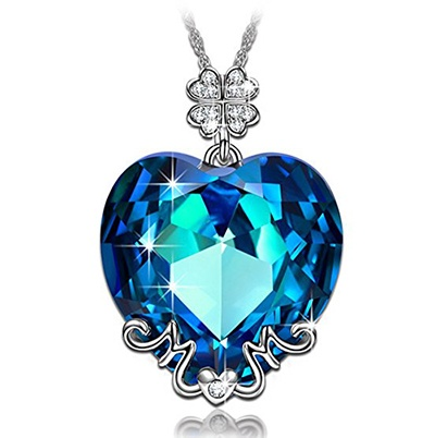 mom swarovski pendant necklace