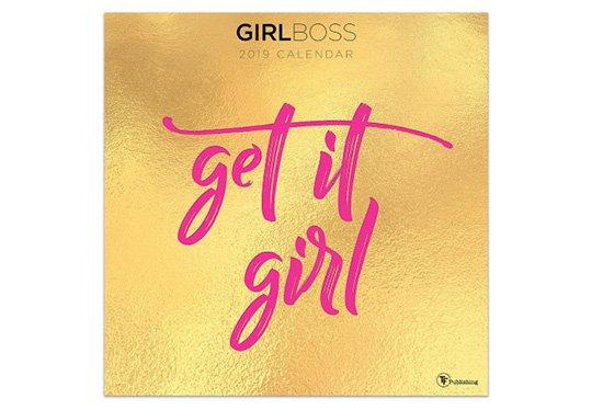 girl boss calendar