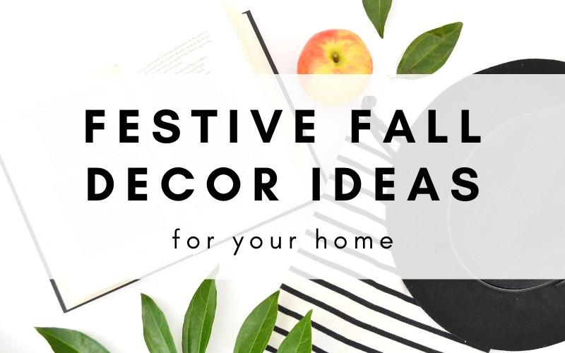 20+ fall home decor ideas