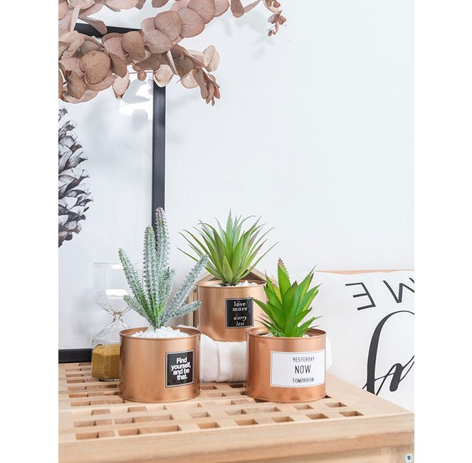 mini potted artificial plants