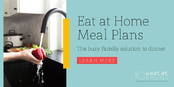 eat at home meal plans - meal planning membership