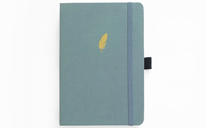 archer & olive dot grid notebook