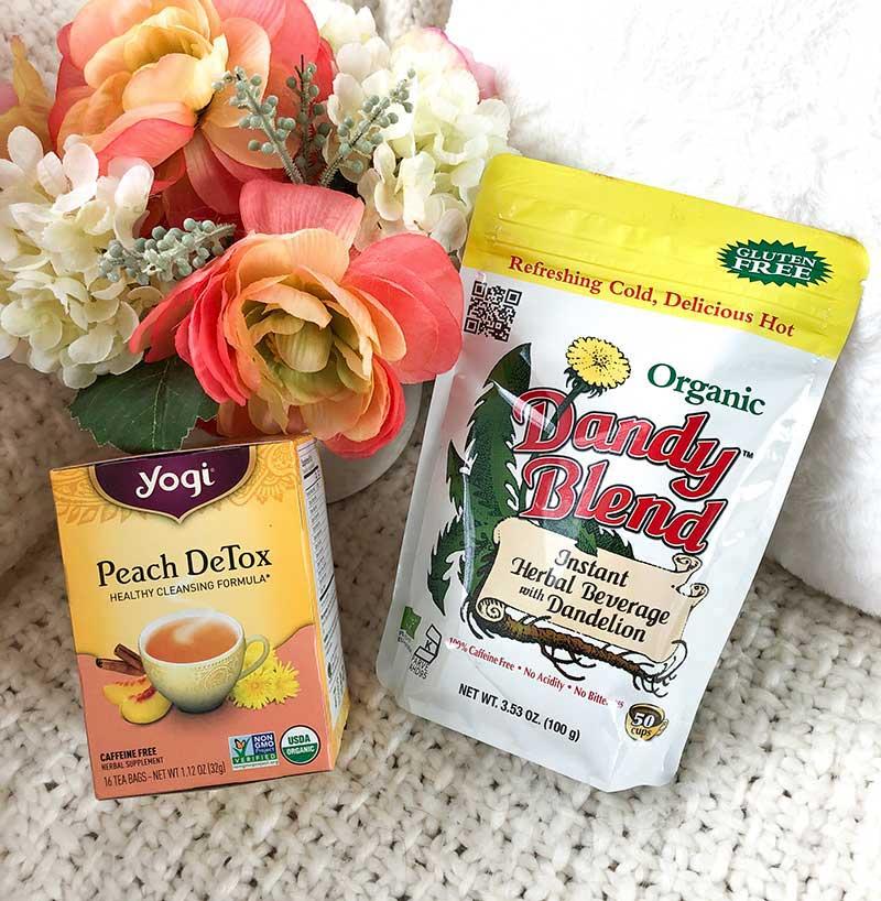 detox tea and dandy blend