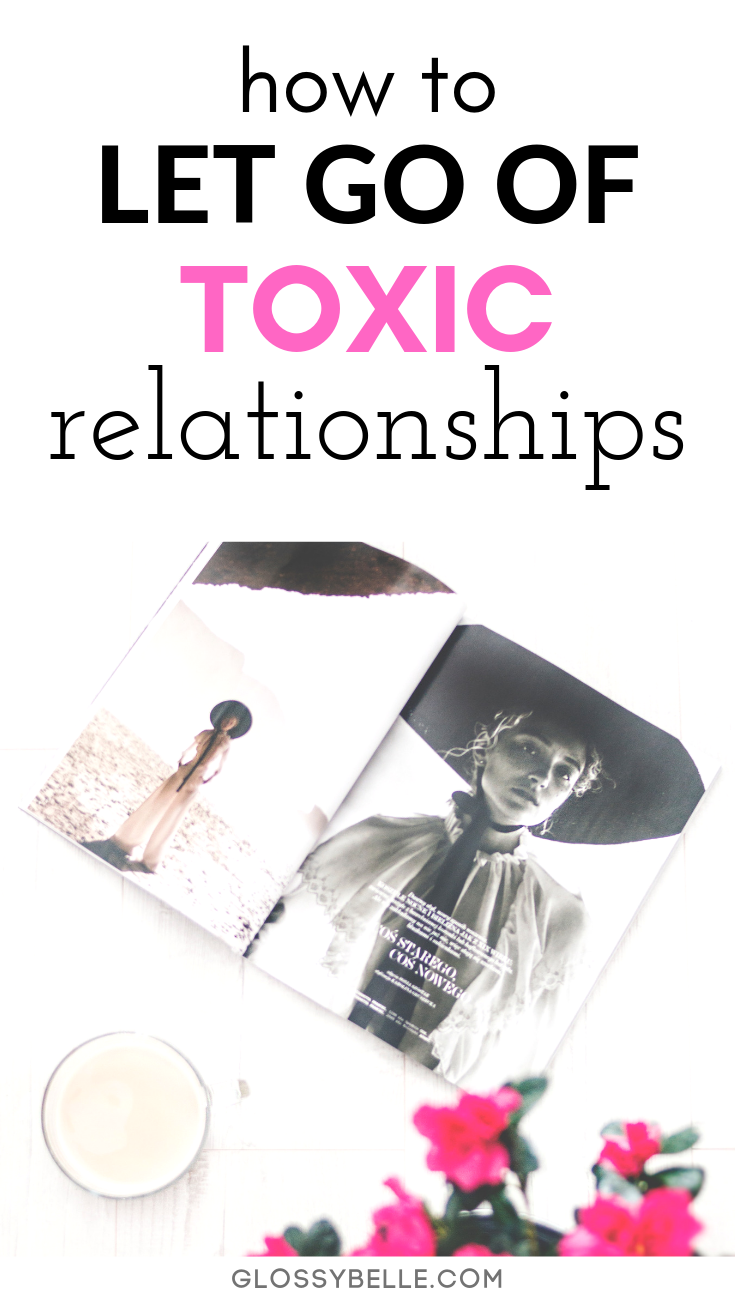 Dealing with a toxic person can be really hard, no matter if it's in a romantic relationship or platonic friendship. However, at some point it's important to put your own mental health and happiness first. In this post, I cover how to let go of a toxic relationship that may be draining all of your mental energy while letting yourself heal. | self-love | joy #mentalhealth #selfcare #selflove #relationship #relationshipadvice #happiness #breakup