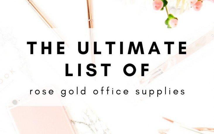 Office Supplies Desk Accessories