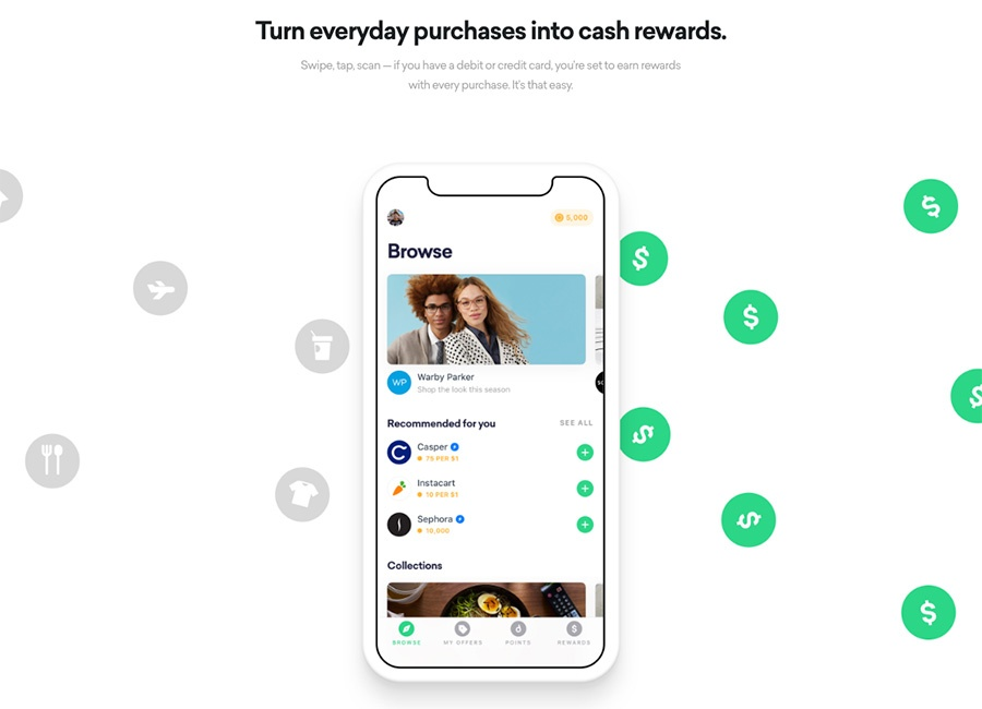 earn with drop