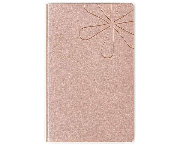 erin condren rose gold lined notebook