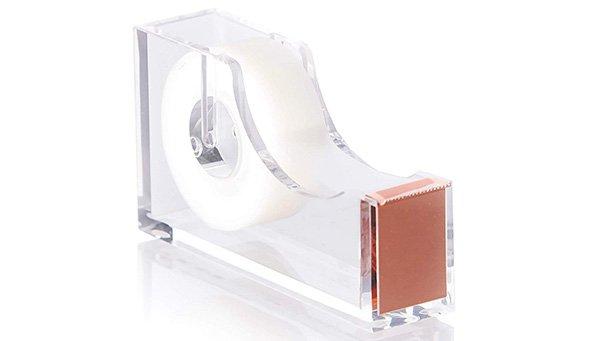 rose gold acrylic tape dispenser