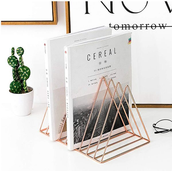 rose gold bookend