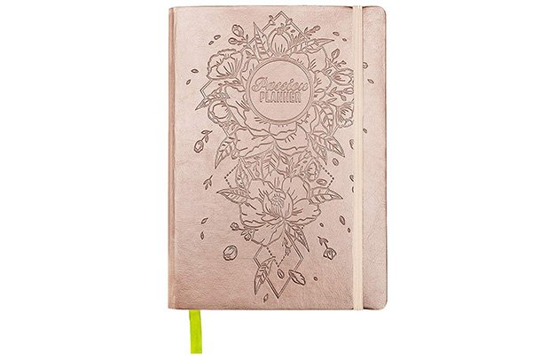 rose gold passion planner