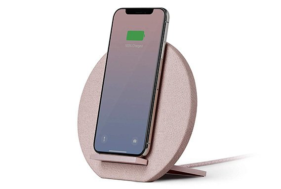 rose gold wireless charger phone dock
